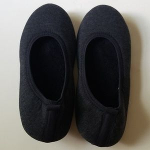 Isotoner Shoes - Isotoner Gray Slippers Never Worn